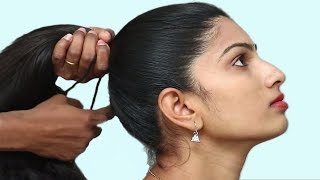 5 Easy Hairstyles in 5 minutes to get perfect college and office look / One minute hairstyles