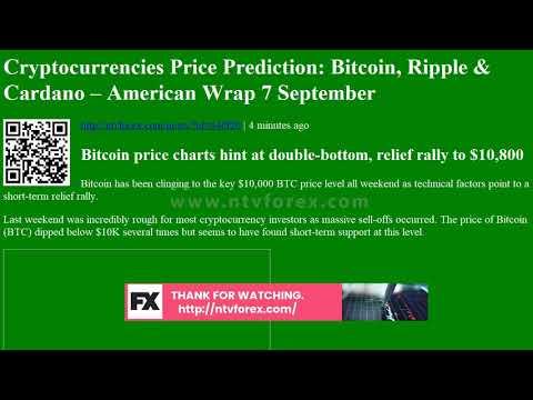 Cryptocurrencies Price Prediction: Bitcoin, Ripple &amp
