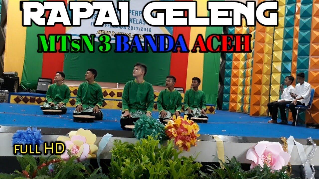 Rapai Geleng Mtsn 3 Banda Aceh Youtube