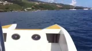 Home built catamaran