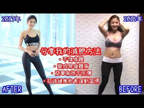 分享我的減肥方法(飲食、運動及生活習慣的改變)