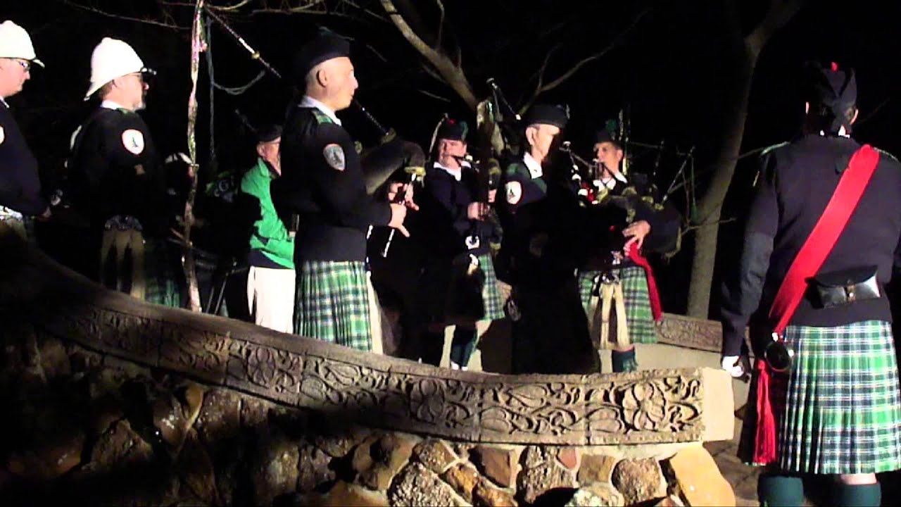 McGuire's Pipe Band at Mosher Castle - YouTube