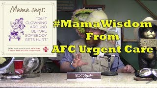 #MamaWisdom From AFC Urgent Care - Clowning Around