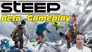 Steep Beta Gameplay - Extreme Winter Sports