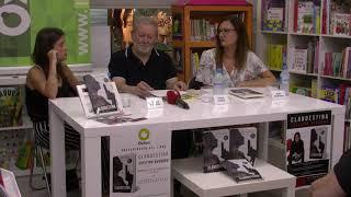 Programa Objetivo Baza del Canal Doce TV Presentación de #Clandestina_CR en Librería Oxford, Baza