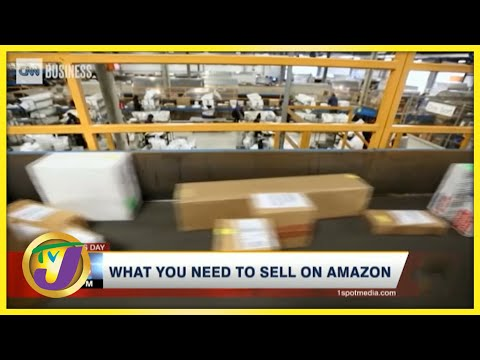 What Jamaican Businesses Need to Sell on Amazon | TVJ Business Day - July 8 2021