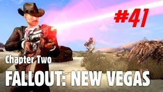 Let's Play Fallout: New Vegas (Chapter Two) - 41 - Guns, Guns, Guns!