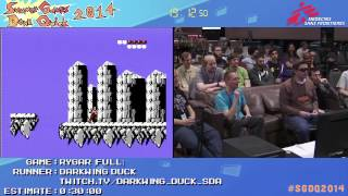 Summer Games Done Quick 2014 - Part 55 - Rygar