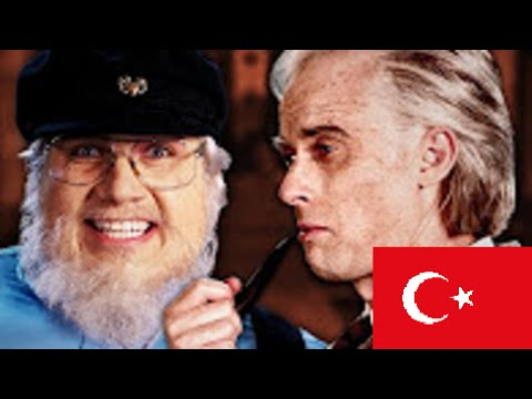 J. R. R. Tolkien vs George R. R. Martin. Epic Rap Battles of History (Türkçe / Turkish CC)