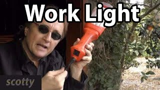 Make Your Own 20 Dollar Work Light