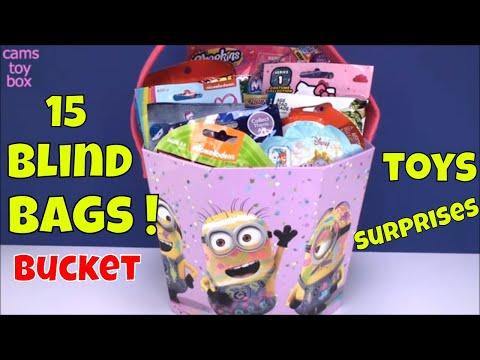 Blind Bags Opening Toys Surprises Hello Kitty Disney MLP Star Wars Nintendo Shopkins