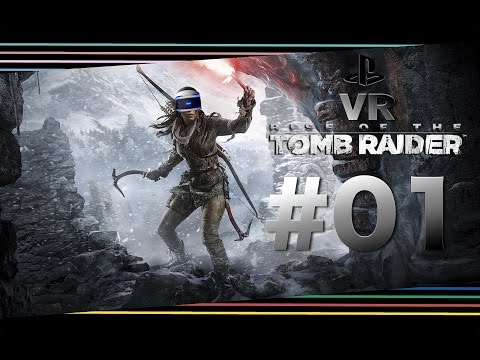 """Rise of the Tomb Raider VR #01 """"Das Croft Anwesen"""" Let's Play (PS4 VR) Tomb Raider"""