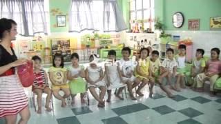 Trường NN Quốc Tế ĐƯỜNG MINH - Chương trình anh văn mẫu giáo - clip2