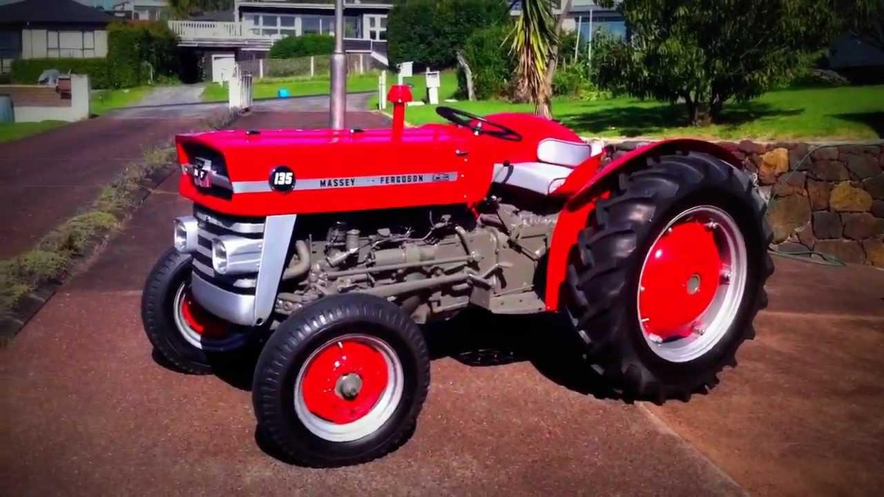 Massey Ferguson Tractor 135 Youtube