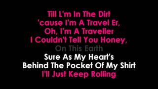 Traveller karaoke No Vocals Chris Stapleton