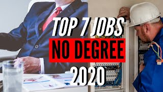 Top 7 Highest Paying Jobs With No College Degree Required (2020)