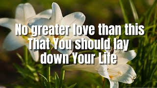 No Greater Love | Toni Gonzaga