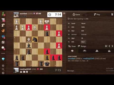 """Cao thủ Mĩ Elo 2209 """"tặng quà Giáng sinh"""" 34 Elo cho Chess TC nhân dịp năm mới"""