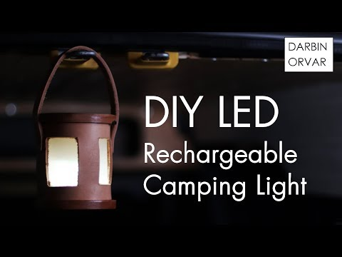 DIY Portable Rechargeable LED Light