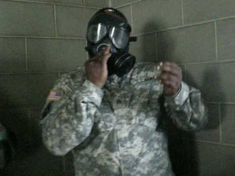 ARMY gas chamber training part 3 INSIDE