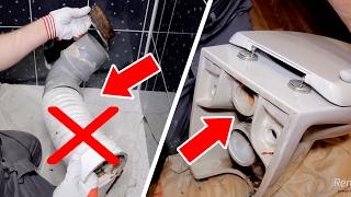 видео Крепление унитаза к полу: популярные варианты монтажа и особенности
