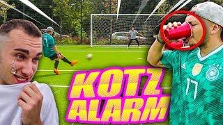 KOTZ DRINK FUßBALL CHALLENGE!! (nicht nachmachen!)
