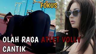 Begini Cara Olahraga Atlet Volly Cantik Asal Kazakhstan - Tatyana Demyanova