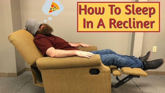 How To Sleep In A Recliner With Back Pain Sciatica Youtube