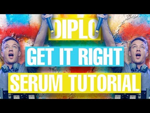 Diplo ft. Mø - Get it Right Serum Remake / Tutorial [FREE DOWNLOAD]