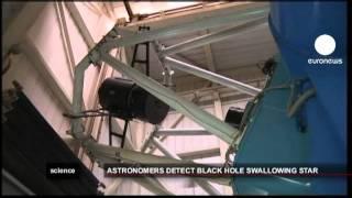 euronews science - أول صور للثقب الاسود وهو يبتلع...
