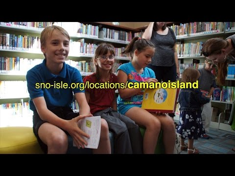 Camano Island Library Grand Opening