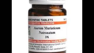 Schwabe Aurum Muriaticum Natronatum 3X