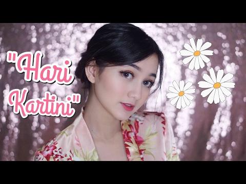 """""""Hari Kartini"""" Makeup Tutorial    PRODUK LOKAL & DRUGSTORE"""