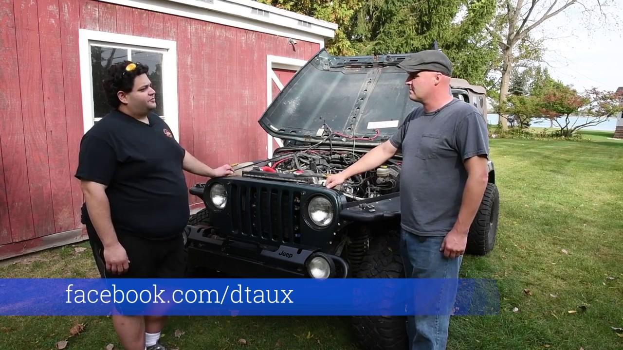 Om617 Mercedes Diesel Jeep Swap Youtube