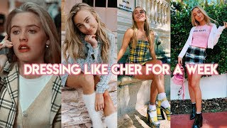 I Dressed like Cher From Clueless For a Week