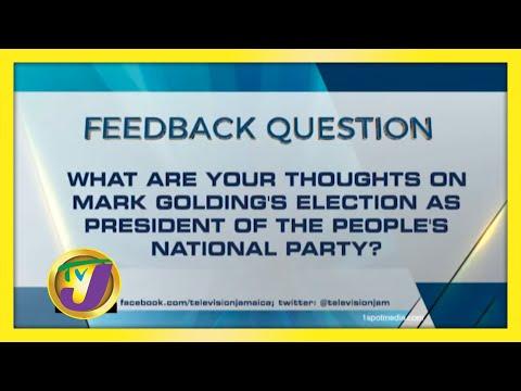 TVJ News: Feedback Question - November 12 2020