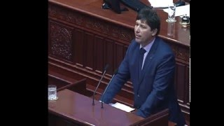 Даскаловски - Обраќање по законот за пушење 25.01.2016