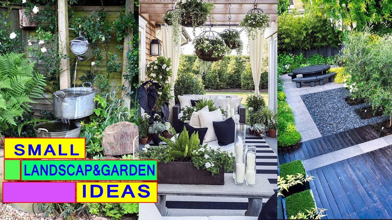 50 Landscape Design And Small Garden Idea For Es