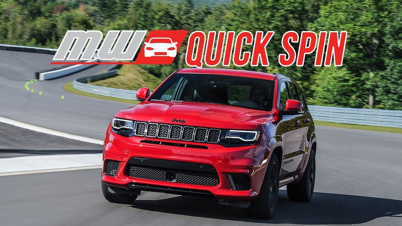 2018 jeep fast. modren jeep 2018 jeep grand cherokee trackhawk  quick spin in jeep fast