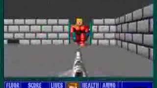 PC - Wolfenstein 3D - Level 49/E5L9 (Gretel Grosse)