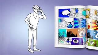 Elemente ► Devot Gay - Sexy Mann-Zeichen - Doodle Whiteboard-Animation | AE-Vorlage