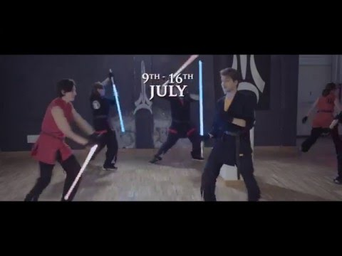 LUDOSPORT sporting light saber combat in America