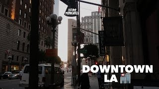 VLOG: Downtown LA e networking