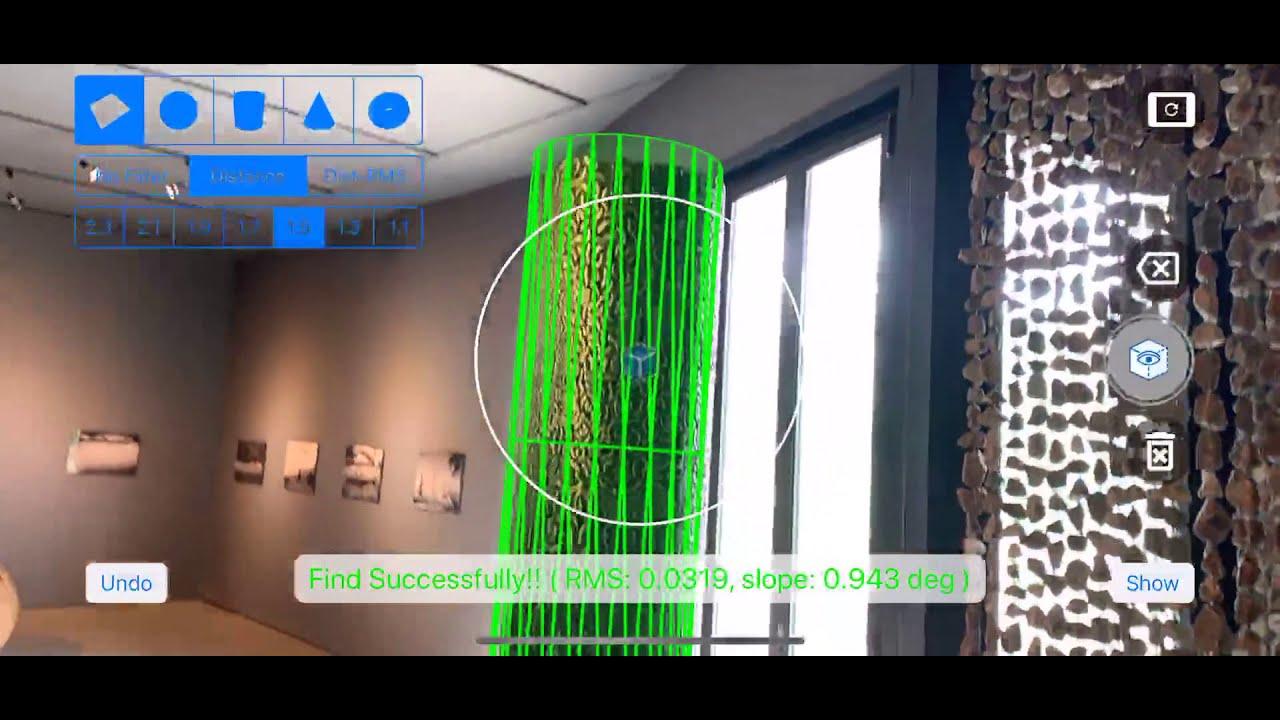 We dream a magic button for 3-D point cloud processing