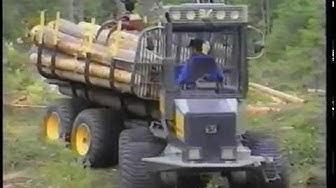 Ponsse metsäkoneet 1992