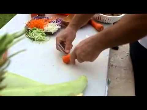 how to use a speed peeler