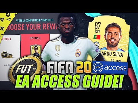 FIFA 20 | HOW TO START EA ACCESS THE BEST WAY! (Early Access Tips)