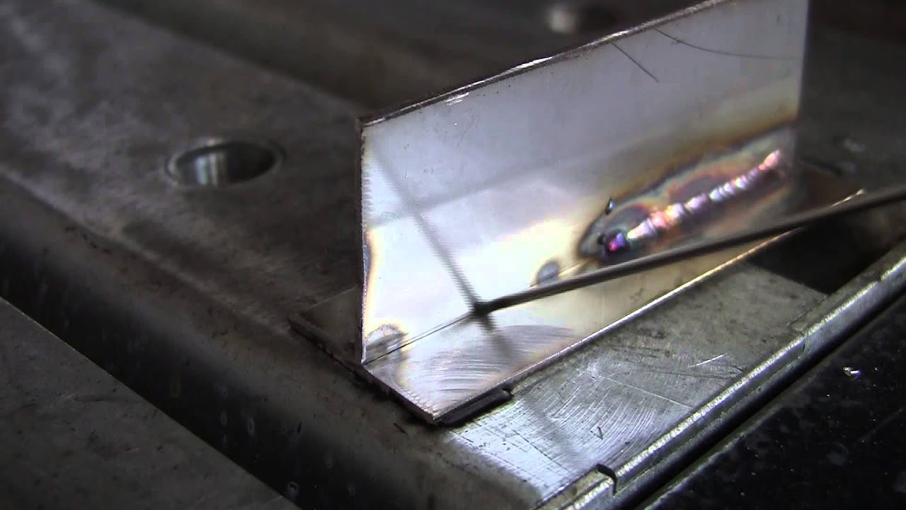 Tig Welding Fusion Vs Filler Rod Youtube