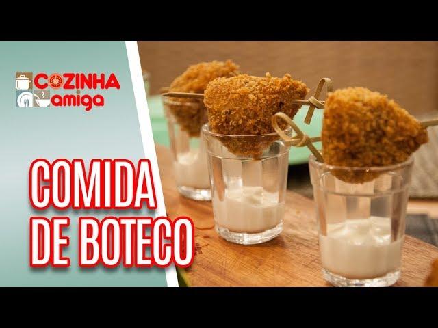 Comidas de Boteco  - Raquel Novais | Cozinha Amiga (22/03/19)