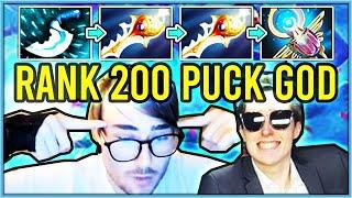 RANK 200 PUCK MID DESTROYS WITH 2 RAPIERS & NEW ITEM FLICKER (ft. Jenkins) | Stream Highlight #5